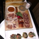 Charcuterie and Bone Marrow Poppers