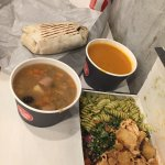 Tallore - soup, salad and wrap