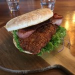 KFC Krunchy Chicken Burger