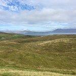 El paisaje de praderas de Clare Islans