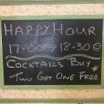 Happy Hour Advert
