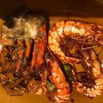 Prawns, Crab & Squid