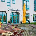 Terrasse am H+ Hotel Limes-Thermen Aalen