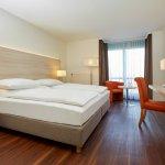 Moderne Zimmer im H+ Hotel Limes-Thermen Aalen