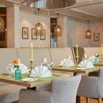 Helles Restaurant im H+ Hotel Stuttgart-Herrenberg