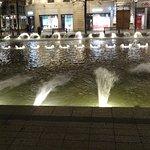Fontaine sur la place