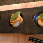 TRIO OF SCALLOPS W/SAIGON RED CURRY