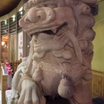 Foo Dog at entrance