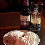 Harmonização por contraste dessa cerveja com essa sobremesa maravilhosa. Dica do chef! Simplesme