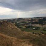 Craggy Range winery from the top of Te Mata peak