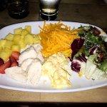 This was the approx. £10 Hawaiian salad