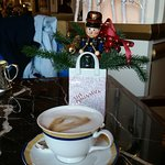 Capuccino in the Lobby area