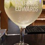 Elderflower gin cocktail, yummy