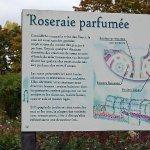 """Descriptif du jardin """"Roseraie parfumée"""""""