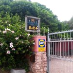 The entrance to House of Westcliff, Hermanus, S.A.