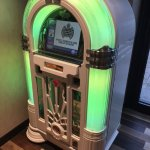 Free Juke Box in reception