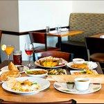 Meal setting at Rani