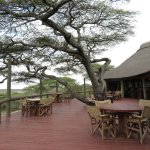 Tranquil main lodge