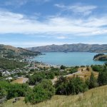 View on Akaroa