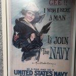 WW1 exhibit poster