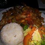 shrimps in creole sauce