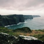 View from the Cliffs of Moher in January