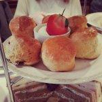 Plain scones & cherry scones