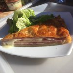 Tarte jambon/Beaufort