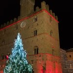 Palazzo Priori by Night