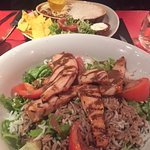 Kata chicken salad and chili