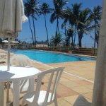 Vista da piscinas de adultos