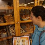 Selecting Mexican pastries