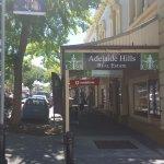 Historic Gawler Street in Mt Baker, Adelaide Hills