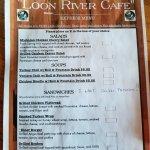 Foto de Loon River Cafe