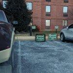 Management Beats Handicapped Parkers