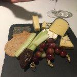 Delicious British Cheese platter