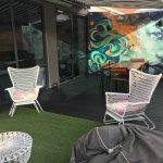 Breakfast room outdoor area (Terrace suite)