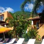 Pool-side at Hotel Mamma Santina