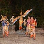 Performers of Siam Niramit....