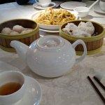 Shrimp dumpling, steam roast pork bun Dim Sum