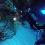 Coral Cave in Cozumel