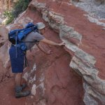 Faulting along the trail