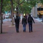 Strolling along Market St.