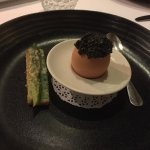Egg with Smoked Caviar