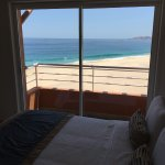 View from the guest room in our 3 bedroom suite.