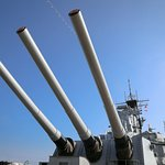 sixteen inch guns