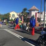 Street dancers/ walkers at Universal Orlando