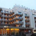 Hotel Santana's new facade