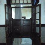 Colonial era door and woodworks
