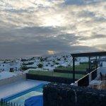 View of Puerto Del Carmen and Fuerteventura in the distance